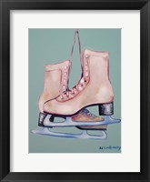 Framed My Old Skates