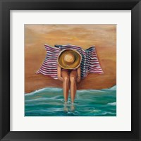 Bathing Beauty II Framed Print