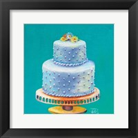 Framed Daisy Wedding Cake