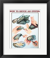 Framed How to Suck an Oyster