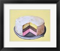 Framed Neapolitan Cake
