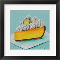 Framed Lemon Meringue
