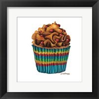 Framed Carny Cupcake
