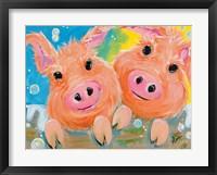 Framed Pig Duo