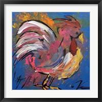 Framed Funky Chicken