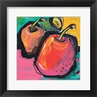 Framed Zany Apples