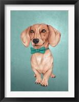 Framed Wiener Dog