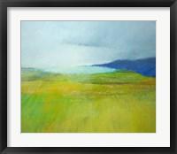 Framed Landscape With Blue