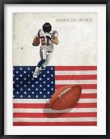 Framed American Sports: Football 1
