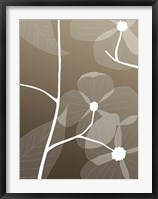 Framed Floral Silhouette 1