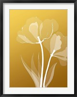 Framed Floral Silhouette 6