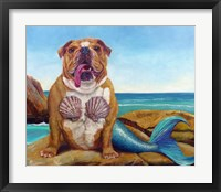 Framed Mermaid Dog