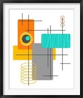 Framed Modop in Orange