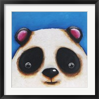Framed Panda Bear