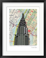 Framed Chrysler Building - NYC