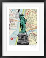 Framed Statue of Liberty - NYC