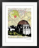 Framed Griffith Observatory