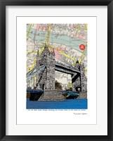 Framed Tower Bridge London