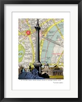 Framed Nelson's Column London
