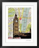 Framed Parliament and Big Ben London