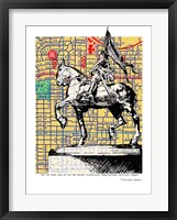 Framed Joan-of-Arc Portland