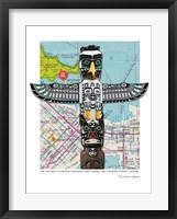 Framed Totem Vancouver