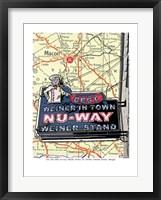 Framed Nu Way Weiner Macon