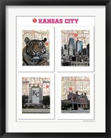 Framed Big Kansas City Poster