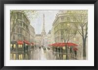 Framed Impression of Paris