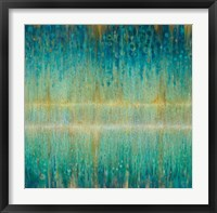 Rain Abstract I Framed Print