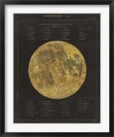 Astronomical Chart I Framed Print