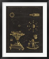 Astronomical Chart II Framed Print
