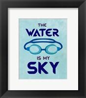 Framed Water is My Sky