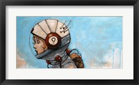 Framed Rosie The Rocketeer