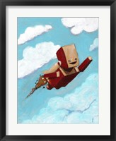 Framed Rocket Bot