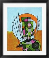 Framed Segmented Man II