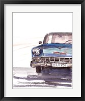 Framed Vintage Car
