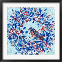 Blue Bird I Framed Print