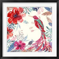 Blooming Garden II Framed Print