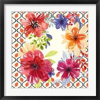 Blooming Garden III Framed Print