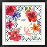 Blooming Garden IV Framed Print
