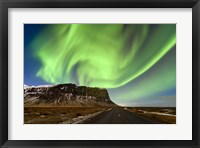 Framed Aurora Splash