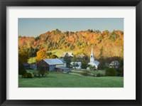 Framed Fall Pastoral