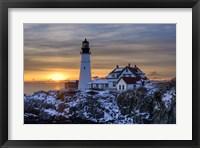 Framed Maine Classic