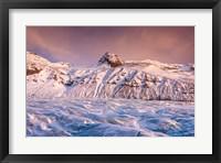 Framed Glacial Spur