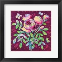 Framed Rosy Romance