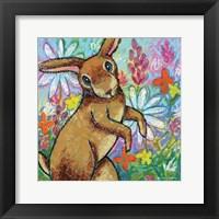 Framed Bunny Dance