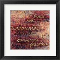 Framed Undaunted