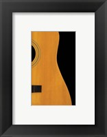 Classic Acoustic Framed Print