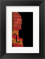 American Fiddle Framed Print